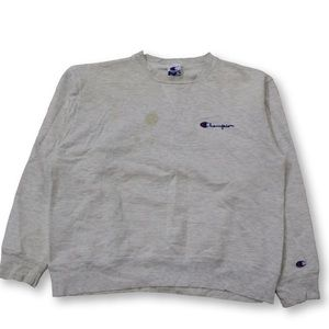 Vintage Distressed Champion Crewneck